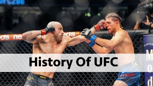 History Of UFC