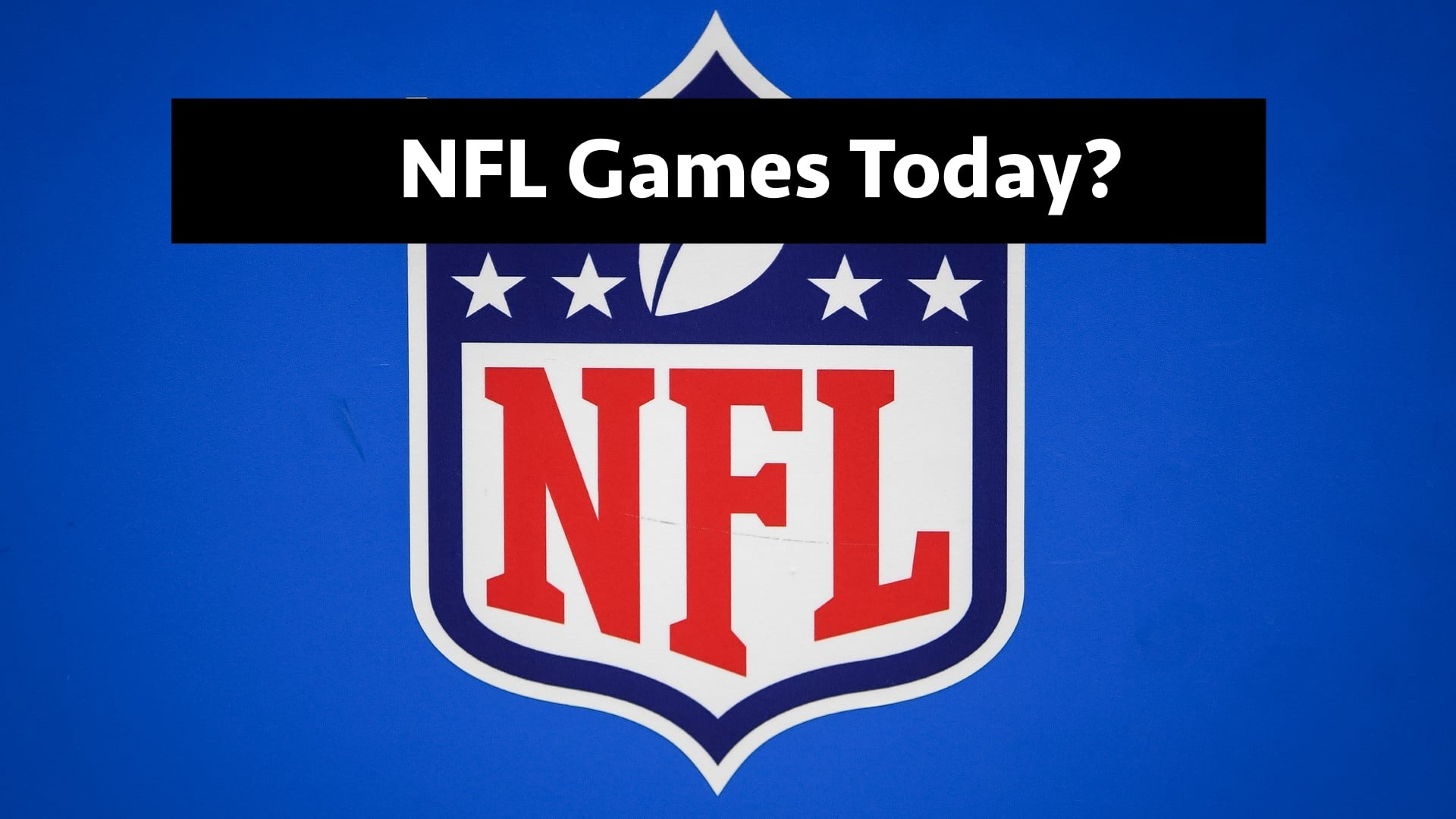 nfl games today